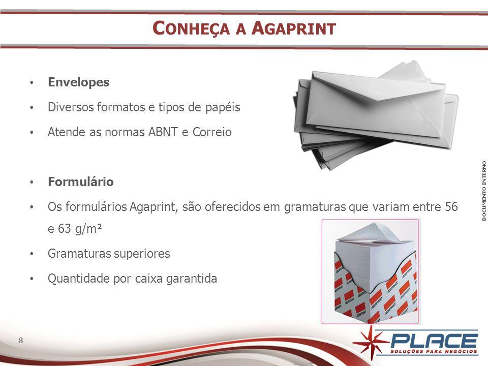 Conheça a Agaprint Envelopes Diversos formatos e tipos de papéis