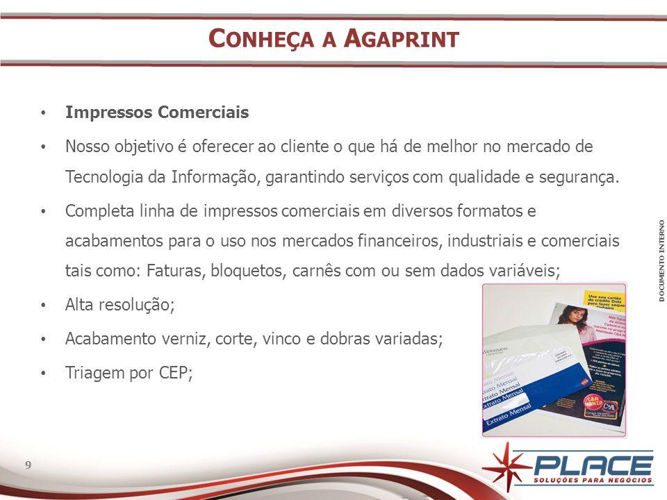 Conheça a Agaprint Impressos Comerciais
