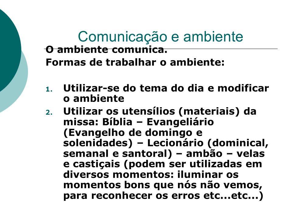 Comunicação e ambiente