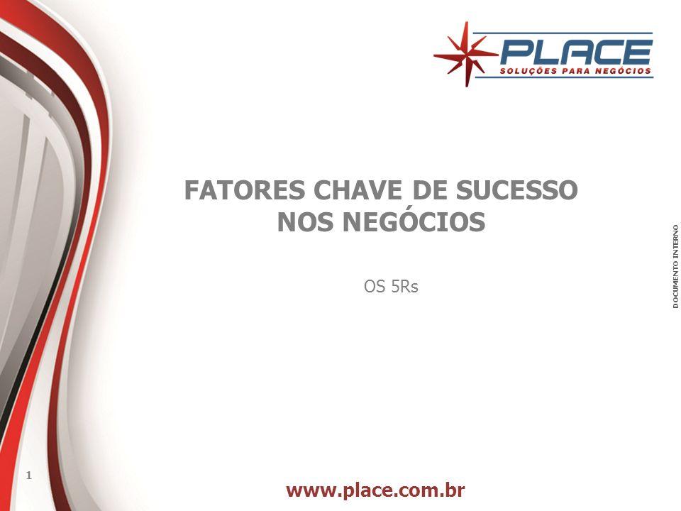 FATORES CHAVE DE SUCESSO NOS NEGÓCIOS