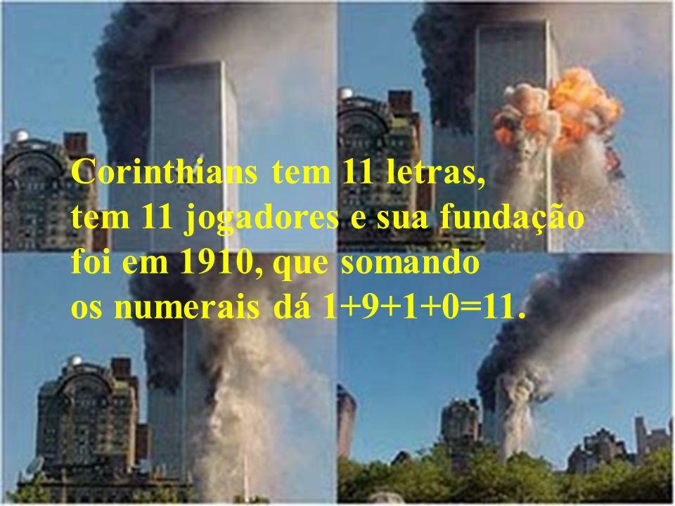 Corinthians tem 11 letras,
