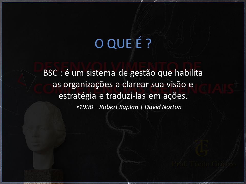 1990 – Robert Kaplan | David Norton