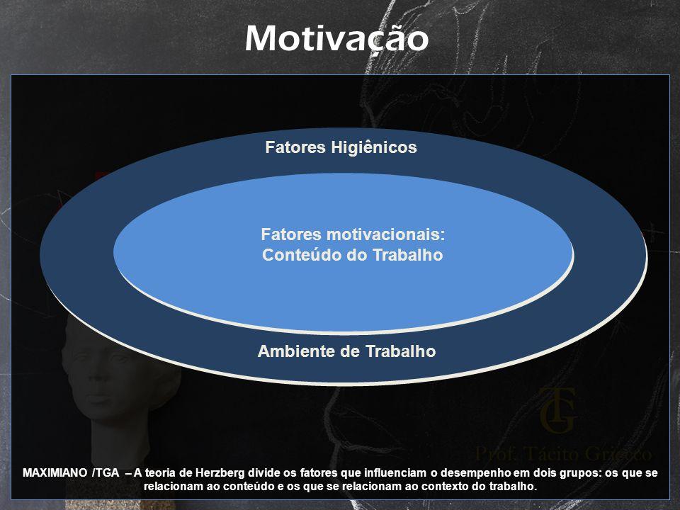 Fatores motivacionais: