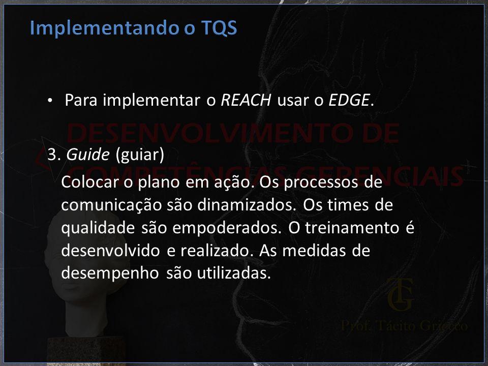 Implementando o TQS 3. Guide (guiar)
