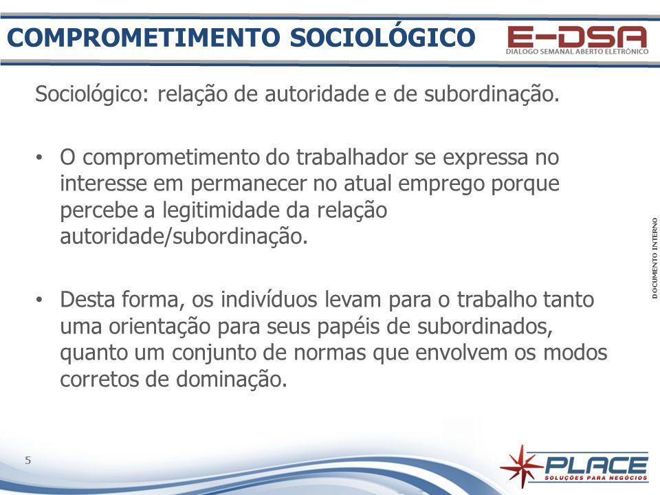 COMPROMETIMENTO SOCIOLÓGICO