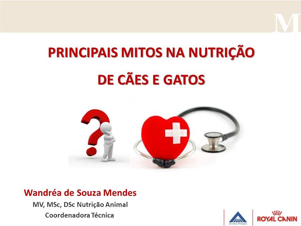 PRINCIPAIS MITOS NA NUTRIÇÃO DE CÃES E GATOS
