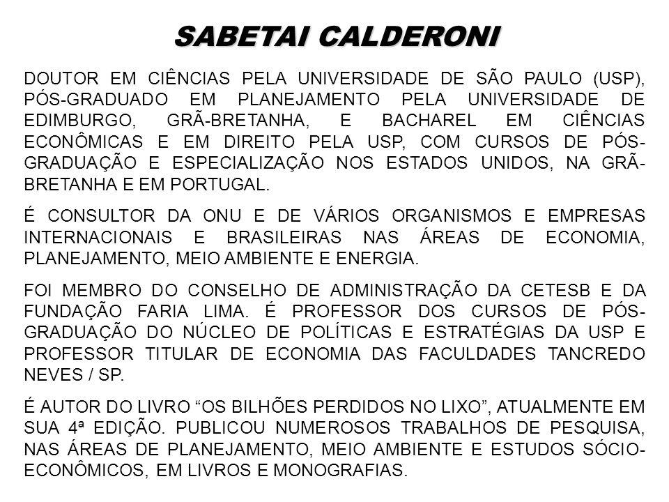 SABETAI CALDERONI
