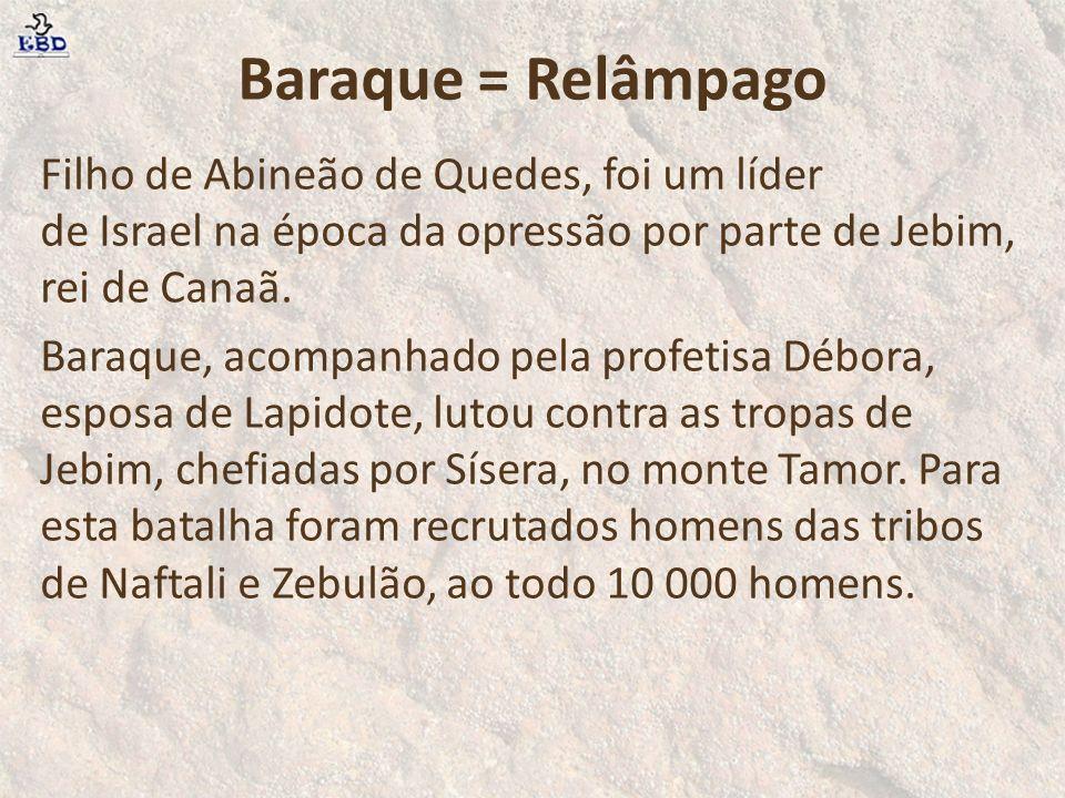 Baraque = Relâmpago