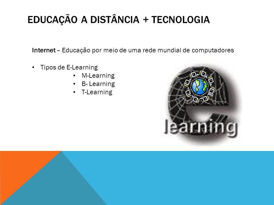 Educação a Distância + Tecnologia