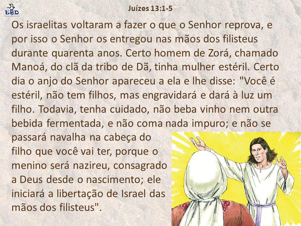 Juízes 13:1-5
