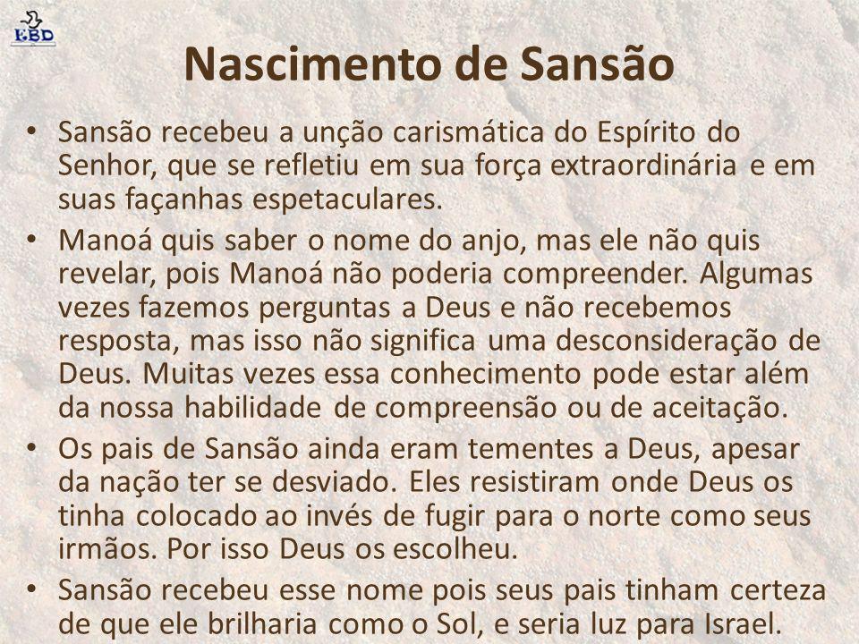Nascimento de Sansão