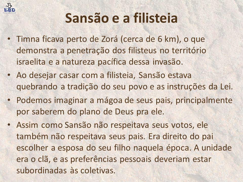 Sansão e a filisteia