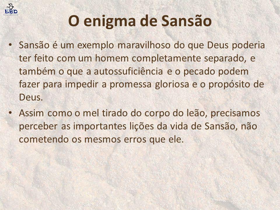 O enigma de Sansão