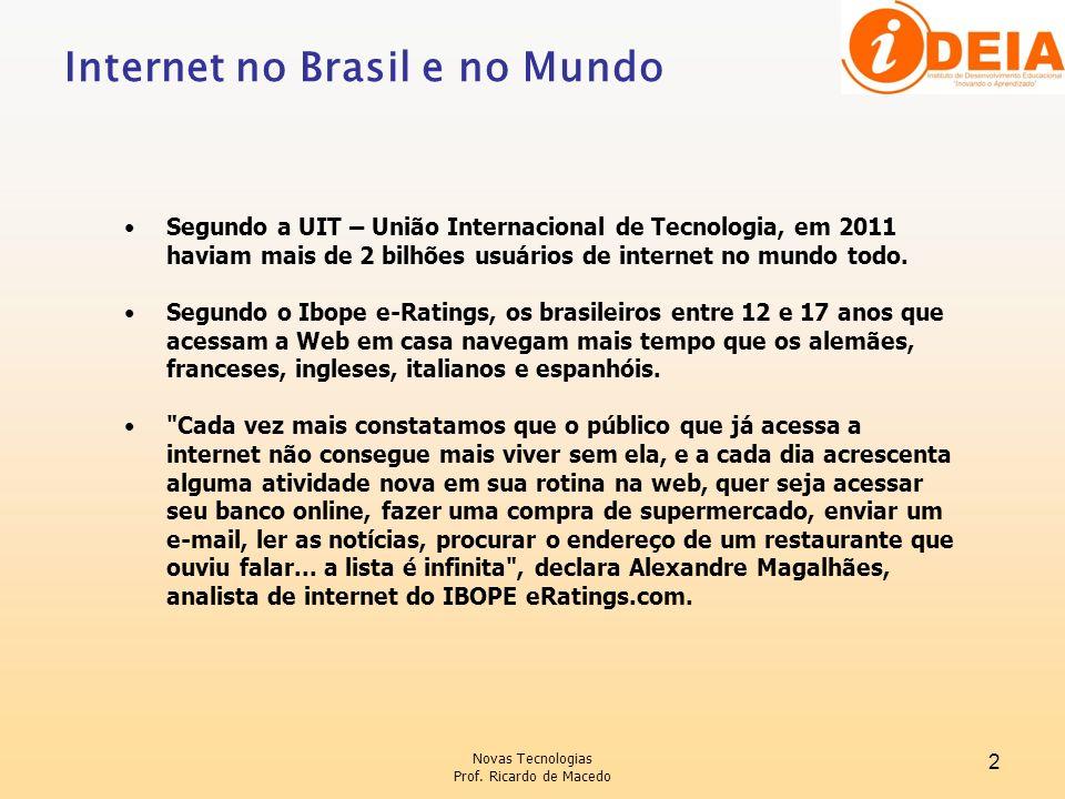 Internet no Brasil e no Mundo