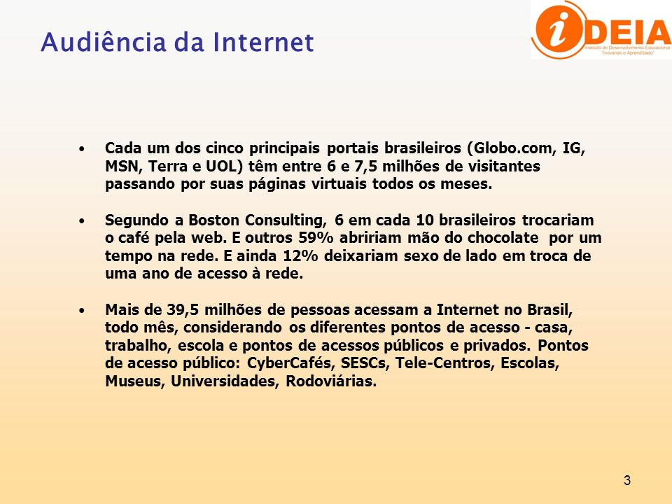 Audiência da Internet