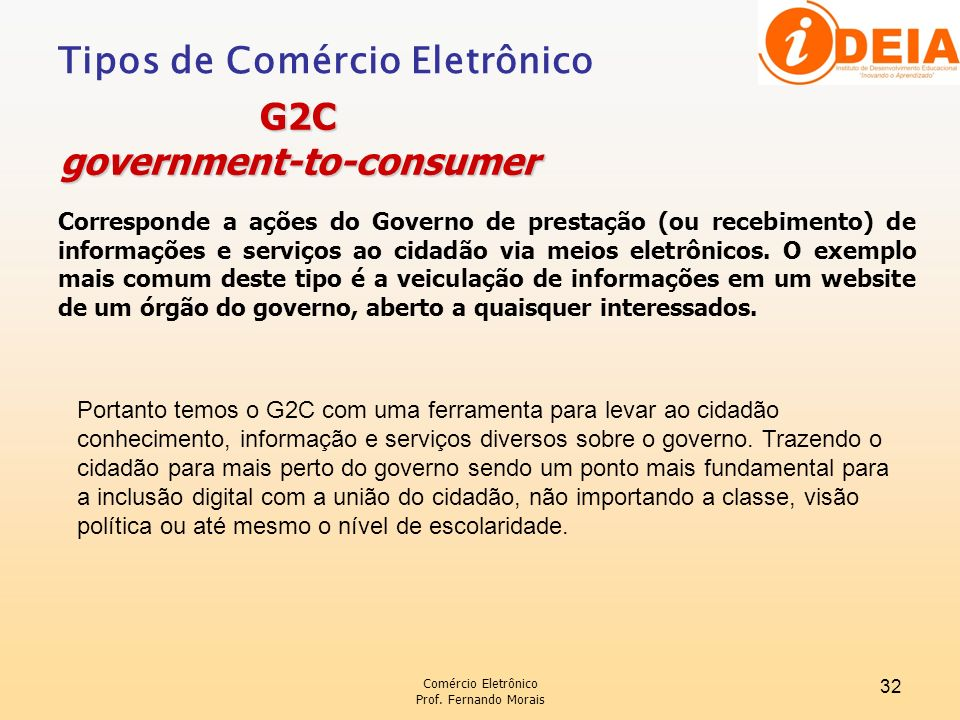 government-to-consumer