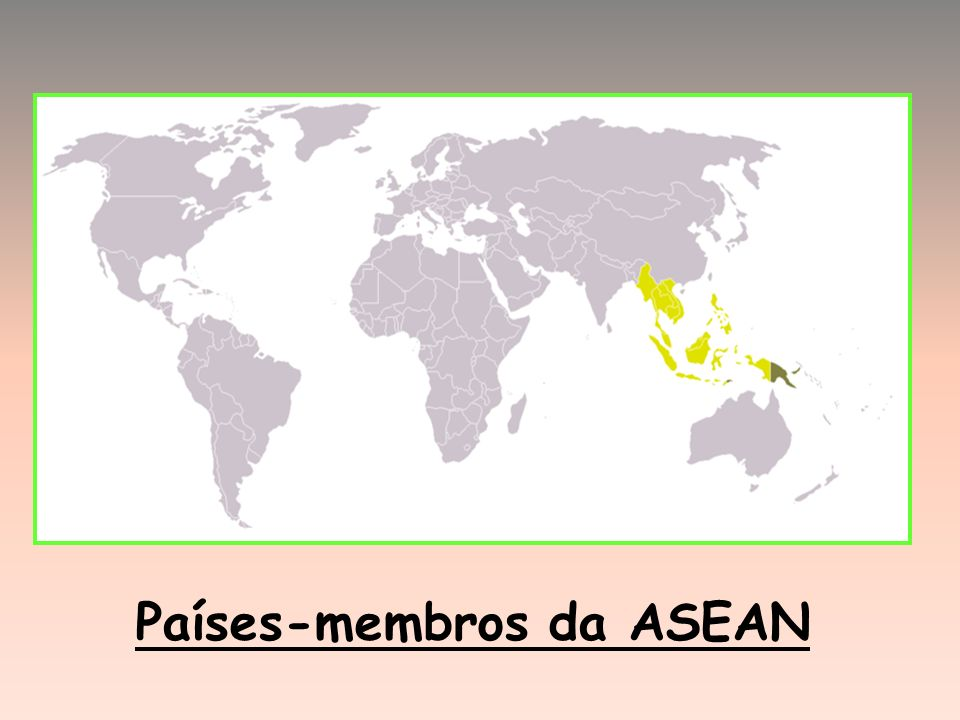 Países-membros da ASEAN