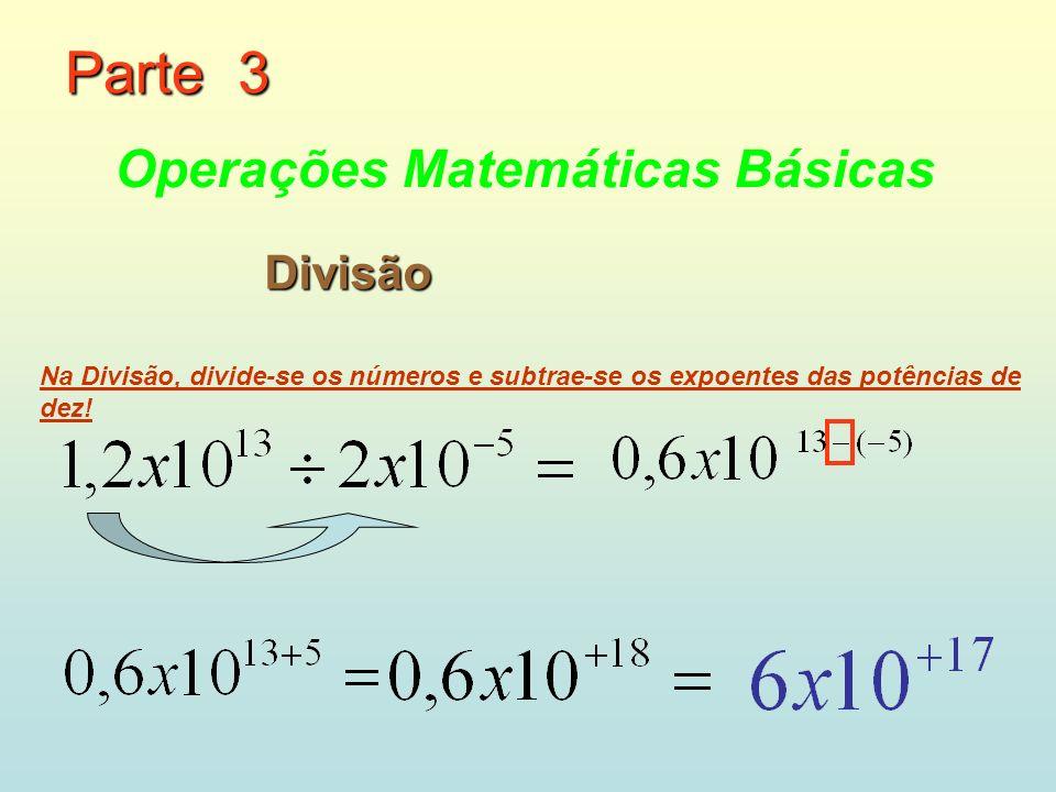 Parte 3 Operações Matemáticas Básicas Divisão