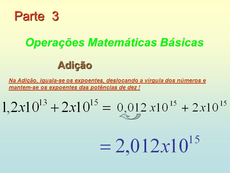 Parte 3 Operações Matemáticas Básicas Adição