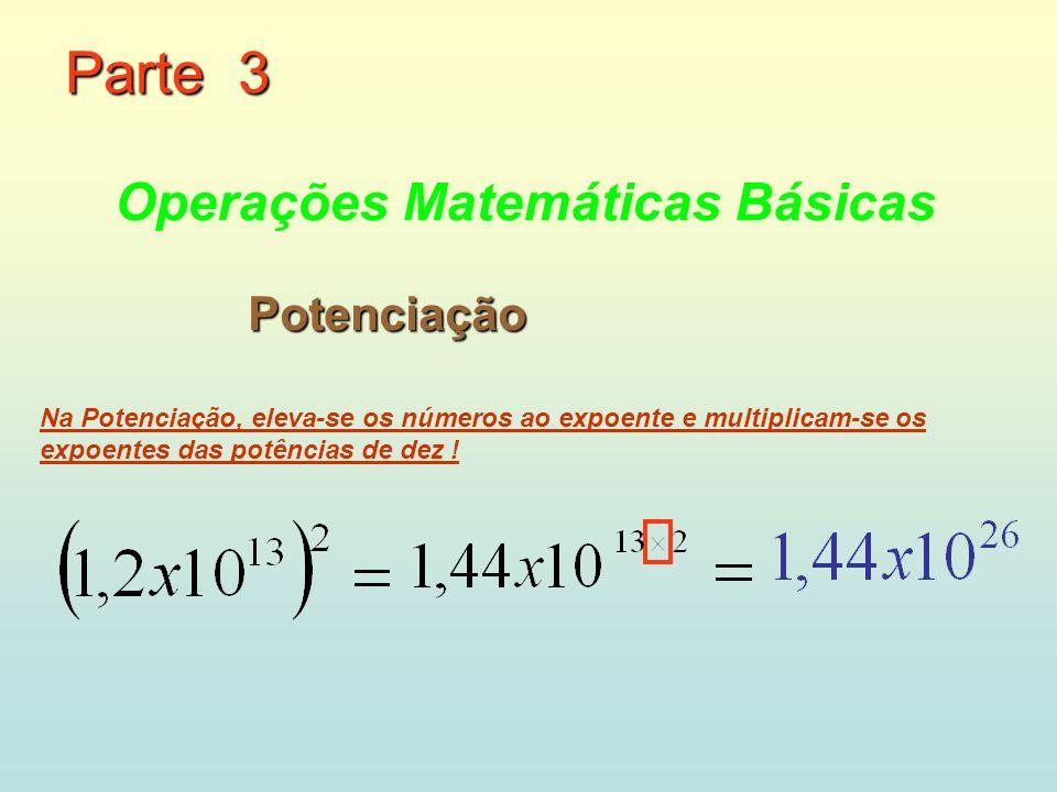 Parte 3 Operações Matemáticas Básicas Potenciação