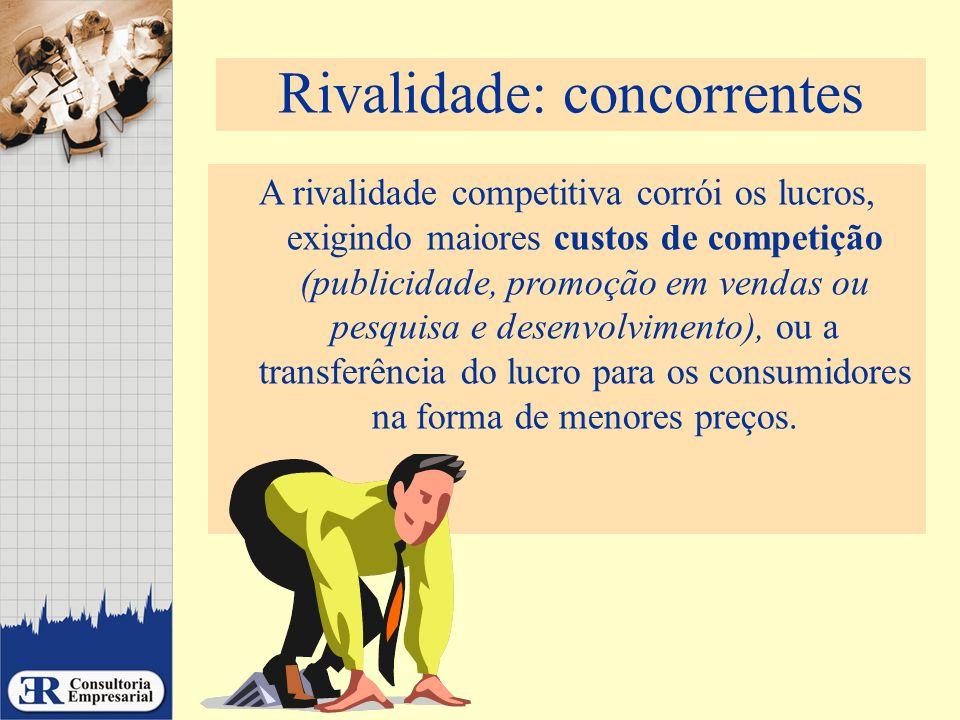 Rivalidade: concorrentes