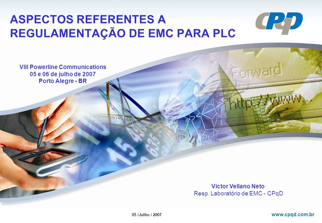 ASPECTOS REFERENTES A REGULAMENTAÇÃO DE EMC PARA PLC
