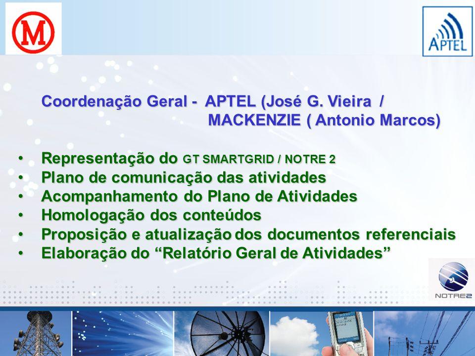 Coordenação Geral - APTEL (José G. Vieira /
