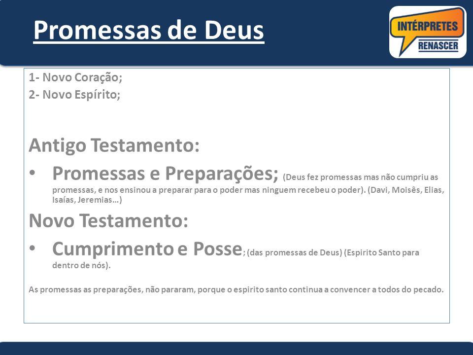 Promessas de Deus Antigo Testamento: