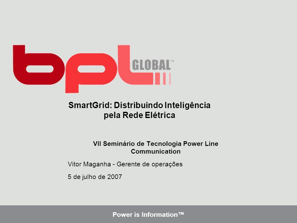 SmartGrid: Distribuindo Inteligência pela Rede Elétrica