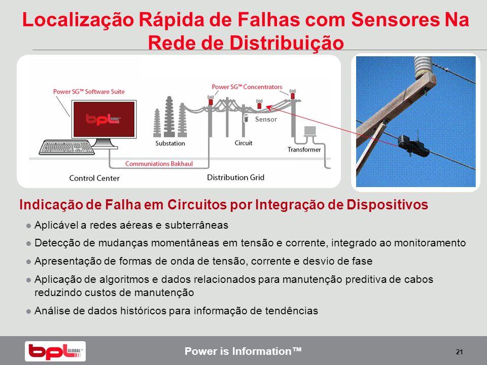 Localização Rápida de Falhas com Sensores Na Rede de Distribuição