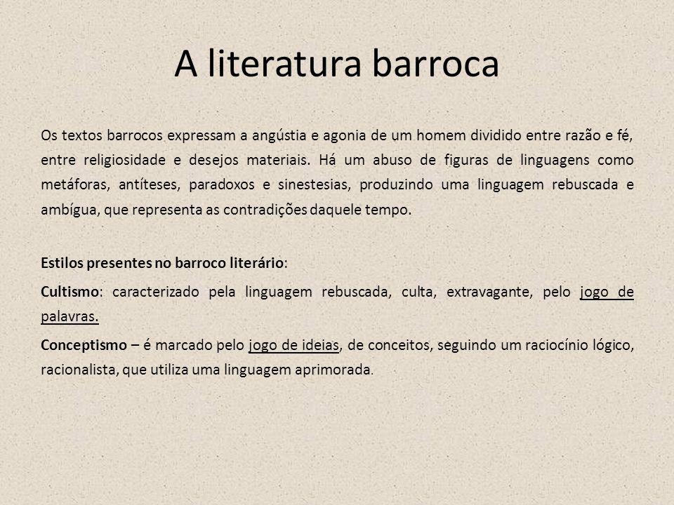 A literatura barroca