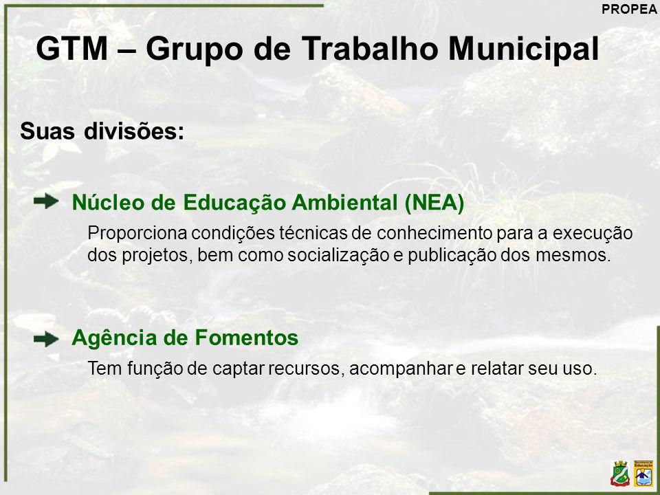 GTM – Grupo de Trabalho Municipal