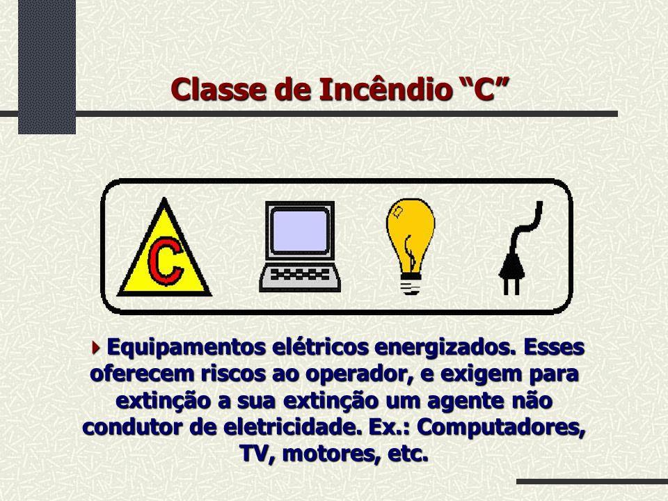 Classe de Incêndio C