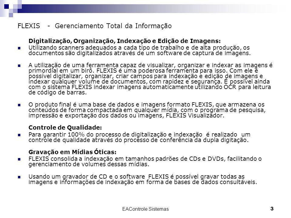 FLEXIS - Gerenciamento Total da Informação