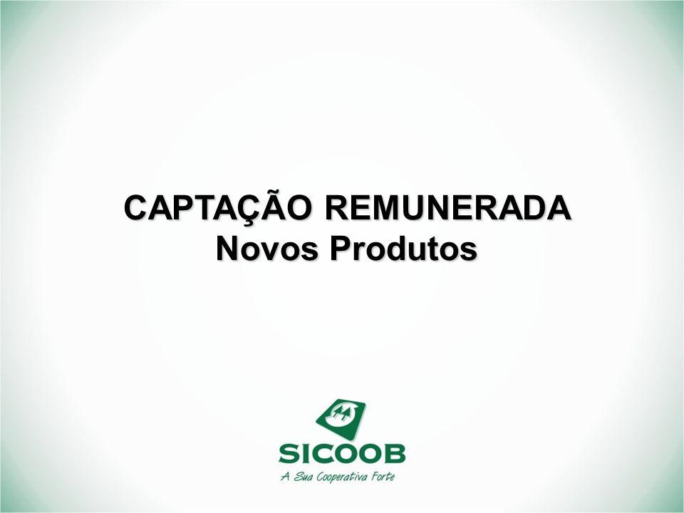 CAPTAÇÃO REMUNERADA Novos Produtos