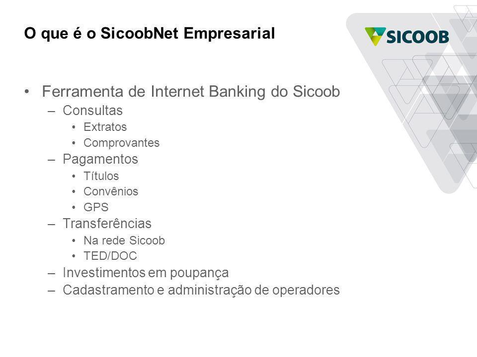 O que é o SicoobNet Empresarial