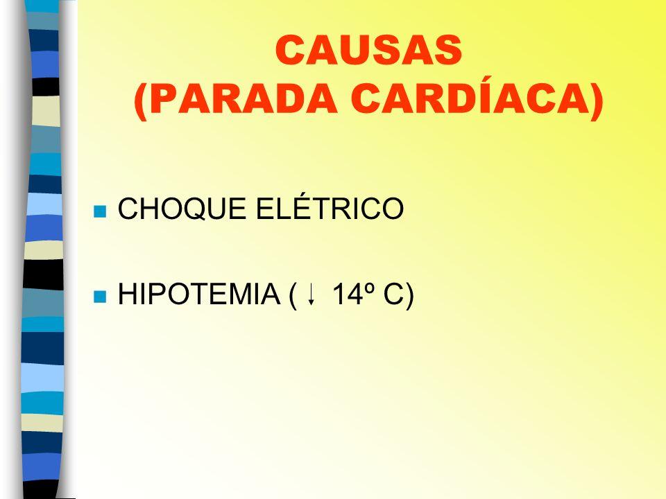 CAUSAS (PARADA CARDÍACA)