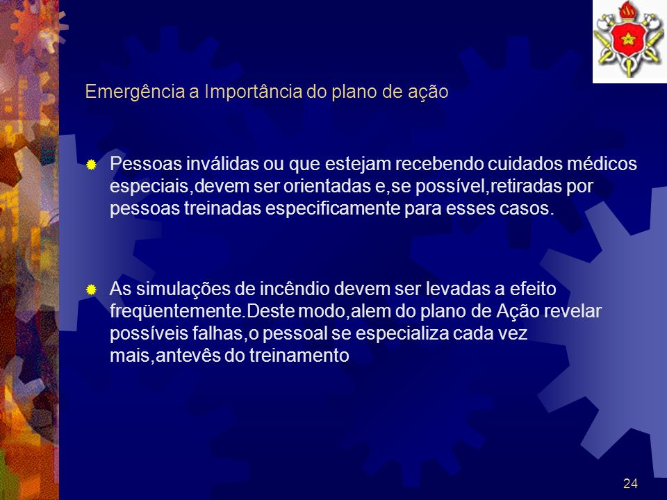 Emergência a Importância do plano de ação