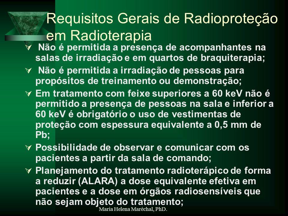 Requisitos Gerais de Radioproteção em Radioterapia