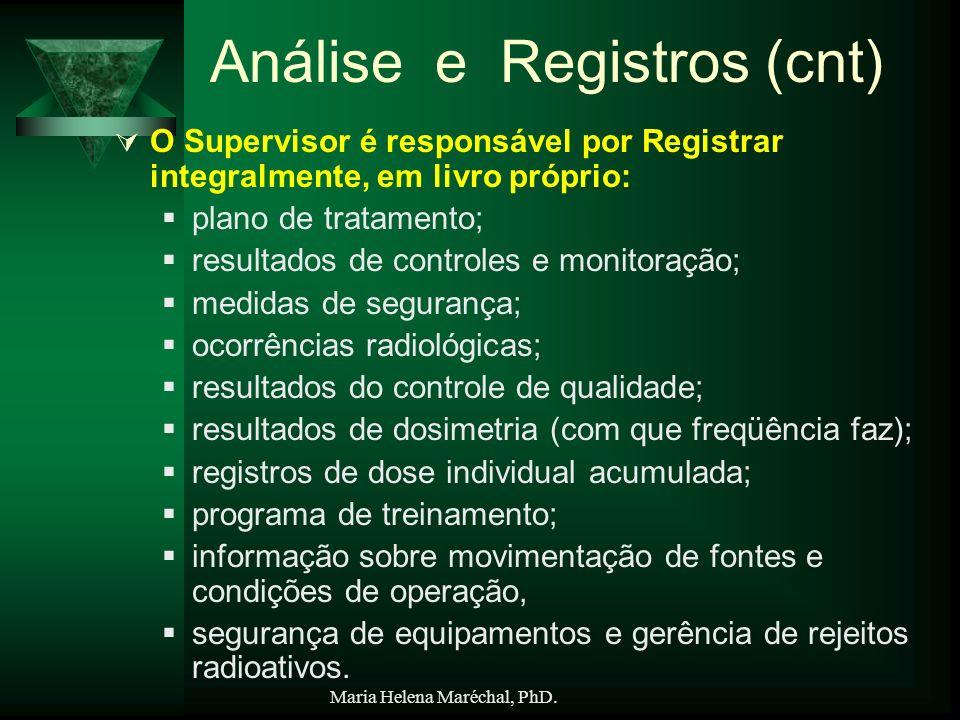 Análise e Registros (cnt)