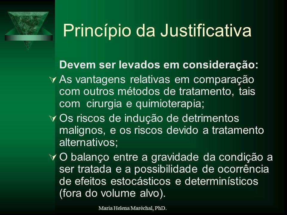 Princípio da Justificativa