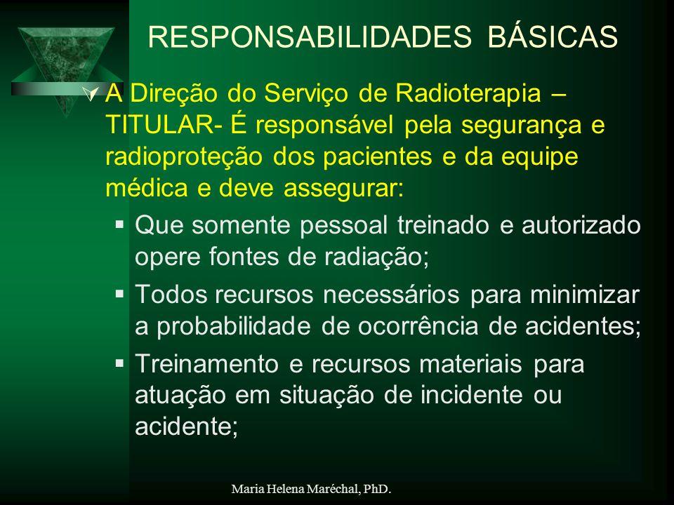 RESPONSABILIDADES BÁSICAS