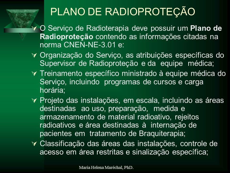 PLANO DE RADIOPROTEÇÃO