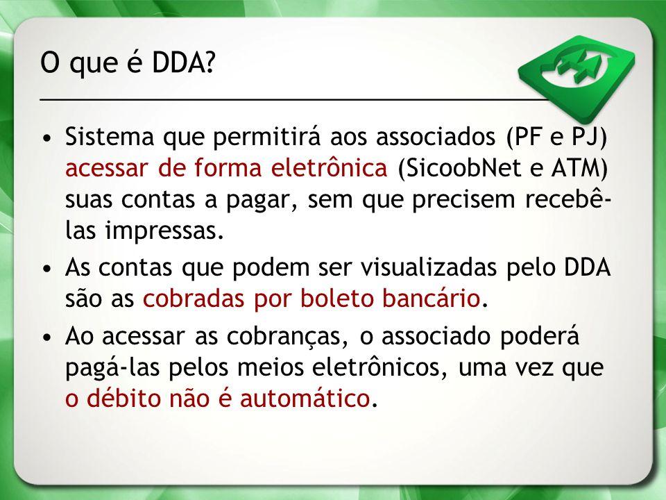 O que é DDA