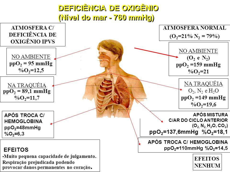 ATMOSFERA C/ DEFICIÊNCIA DE OXIGÊNIO IPVS