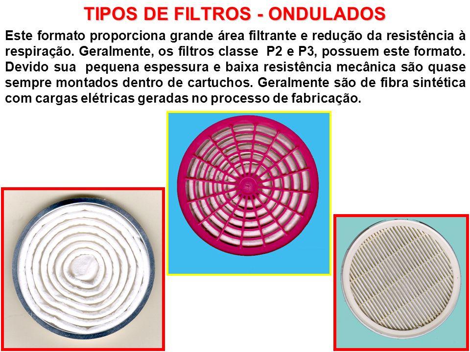TIPOS DE FILTROS - ONDULADOS
