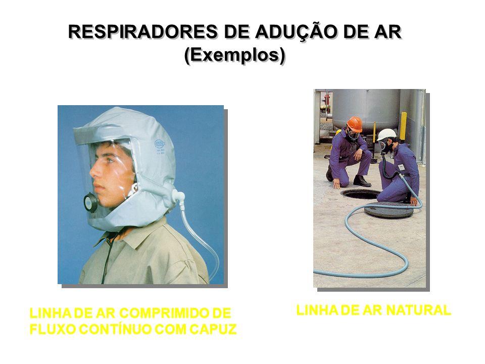 RESPIRADORES DE ADUÇÃO DE AR (Exemplos)