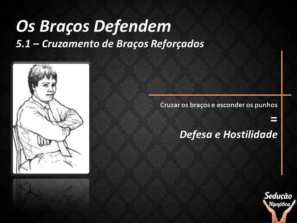 Os Braços Defendem = 5.1 – Cruzamento de Braços Reforçados