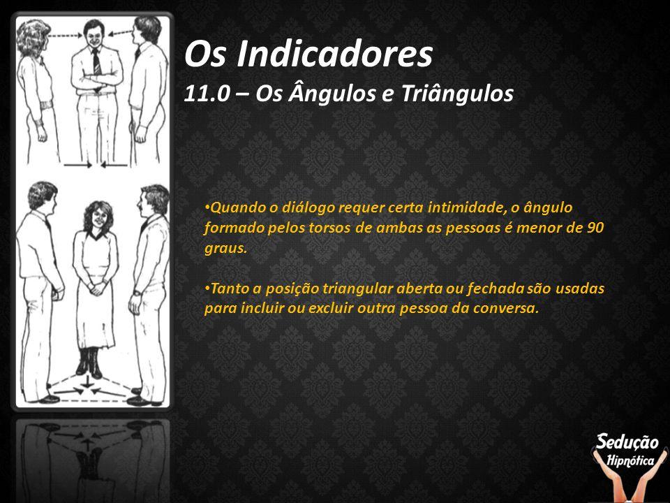 Os Indicadores 11.0 – Os Ângulos e Triângulos