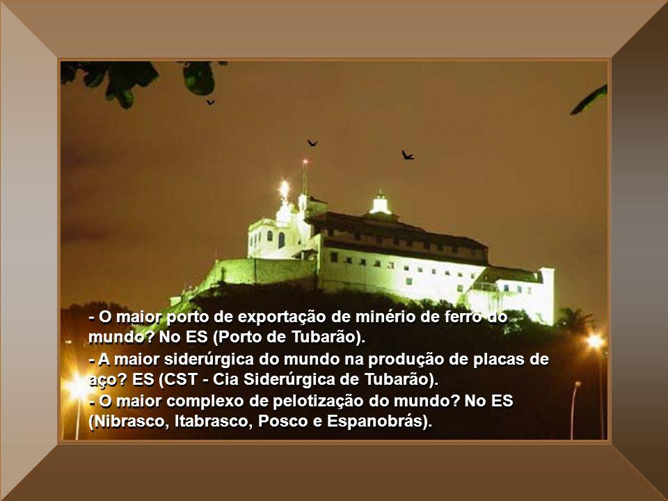 - O maior porto de exportação de minério de ferro do mundo